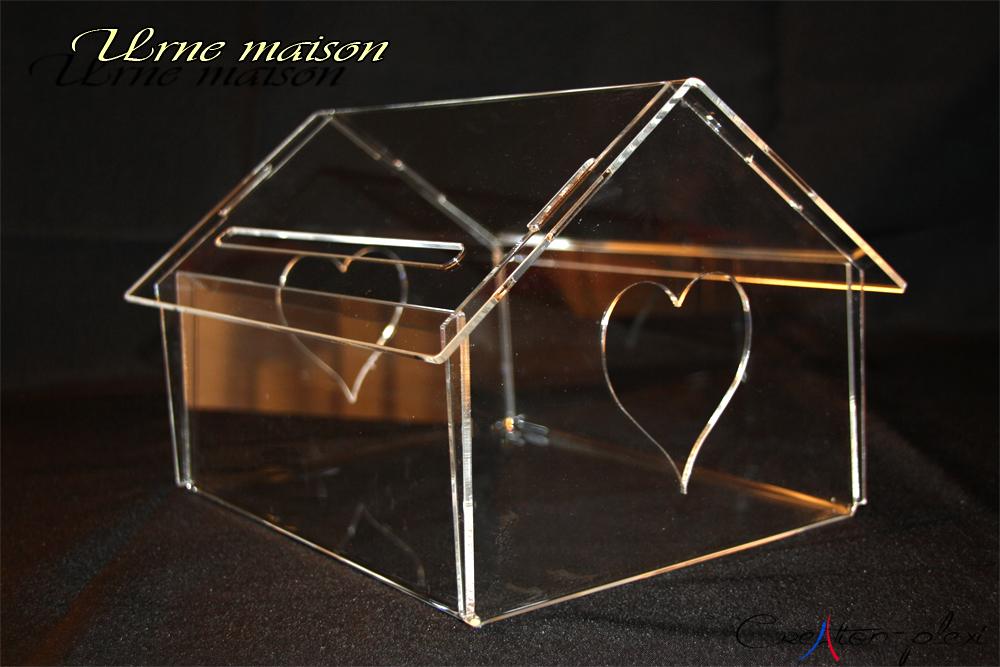 urne translucide maison