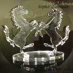 trophée 2 cheveaux