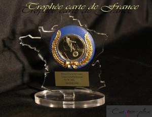 trophée carte de France
