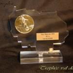 trophée plexiglas 94