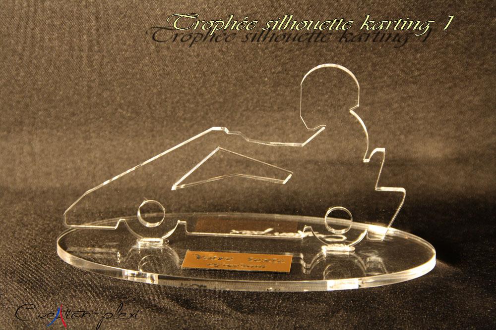 trophée silhouette karting 1