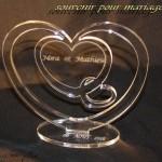 coeur souvenir pour mariage