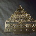trophée meilleur patissier professionnel