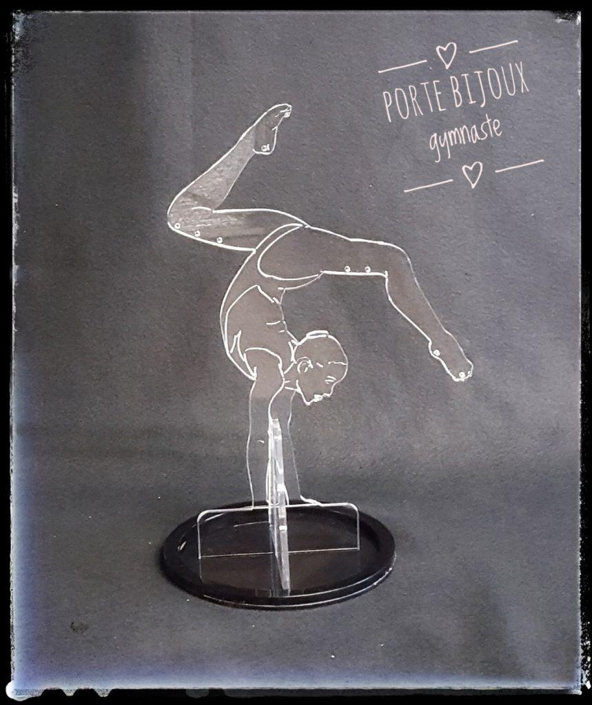 porte-bijoux gymnaste