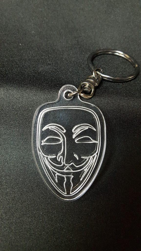 porte-clés anonymous