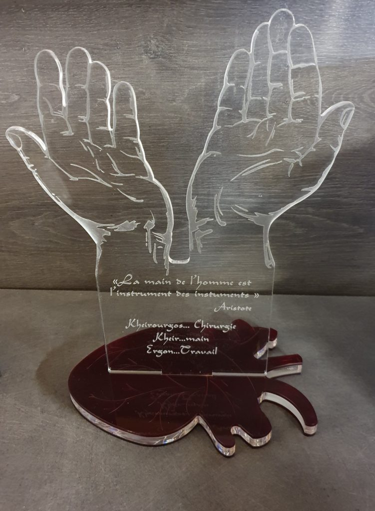 trophée main et coeur