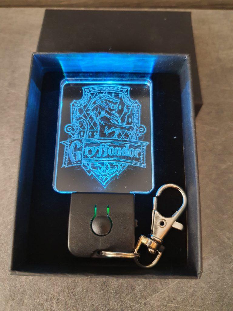 porte-clés led multicolore Griffondor