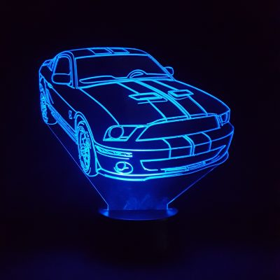 Lampe 3d Ford Mustang