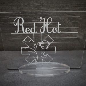 centre table red hot