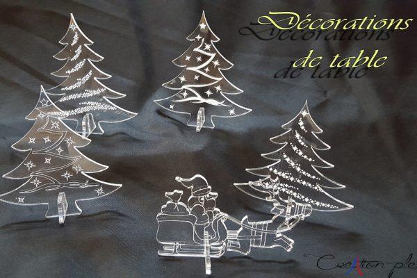 decorations-de-table-de-noel