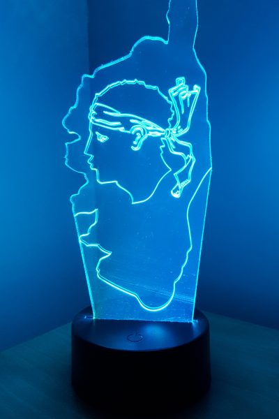 lampe à led veilleuse corse