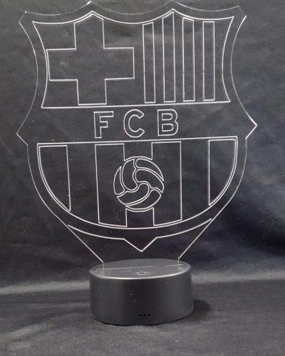 lampe 3D Barça foot