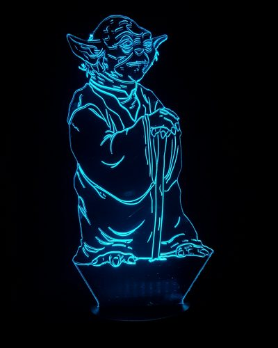 lampe LED star wars Yoda