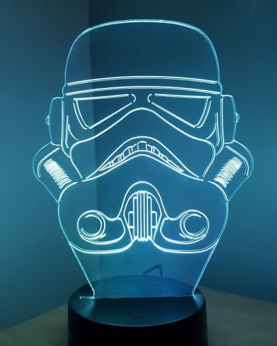 lampe led storm trooper