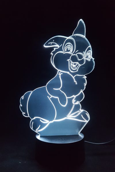 lampe led veilleuse lapin pan-pan