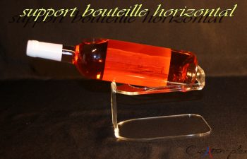 support bouteille horizontal