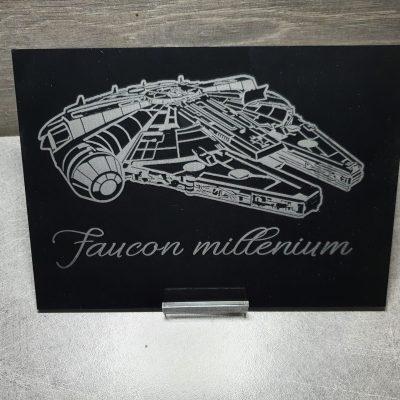tableau faucon millenium star wars