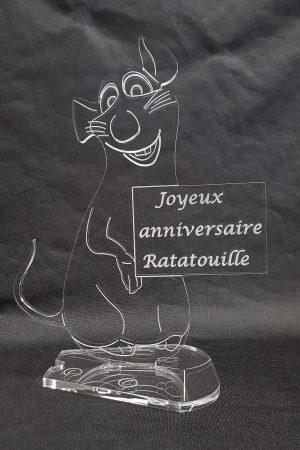 trophée anniversaire rat Ratatouille