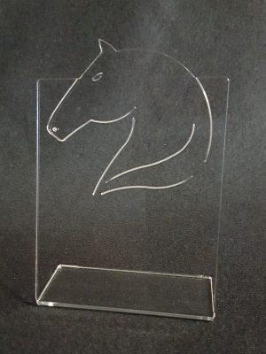 trophée plié equitation