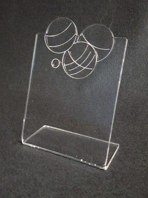 trophée plié pétanque