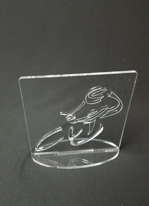 trophée rectangle cyclisme