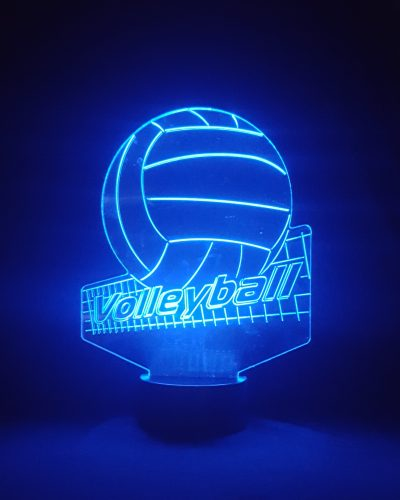 veilleuse 3D volley ball