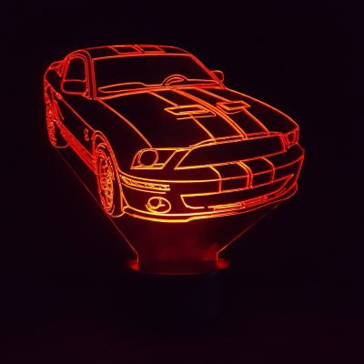 veilleuse LED Ford Mustang