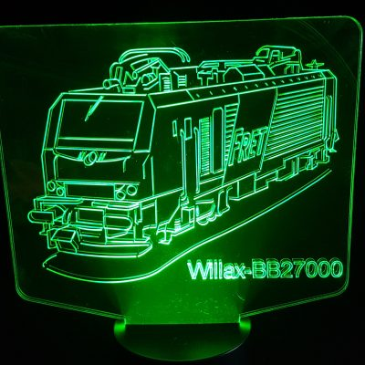 veilleuse led train