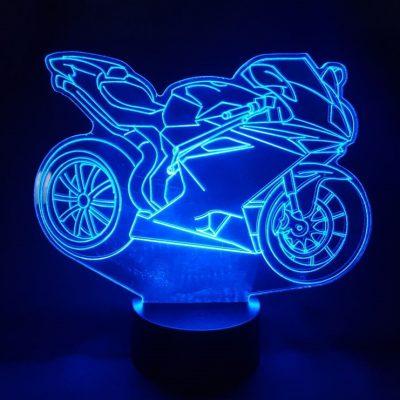 veilleuse moto